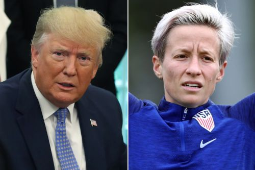 Trump accidentally tags wrong woman in Rapinoe Twitter feud
