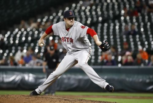 Carson Smith returns to Red Sox with long road ahead