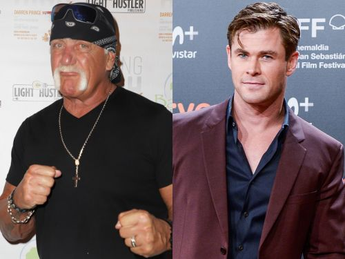 Hulk Hogan said he'd want Chris Hemsworth to play him in a movie 6 years ago, and now it's actually happening