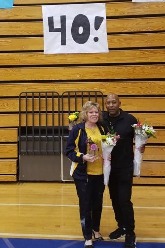 'It's been a great ride': Longtime coaches, Bainbridge's Cindy Guy, Mercer Island's Lenny Lewis will retire after state gymnastics meet