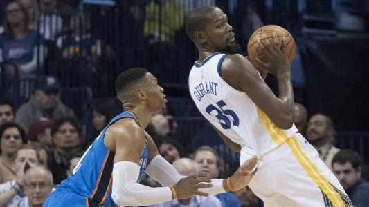 NBA wrap: Celtics' streak snapped; Russell Westbrook gets best of Kevin Durant
