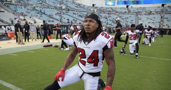 Falcons RB Freeman out for Sunday's game vs Carolina