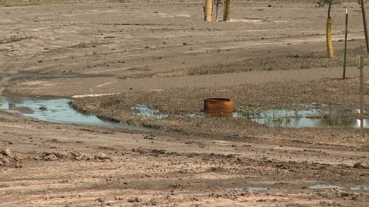 Muddy mess left in metro parks following Missouri River flooding