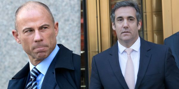 Michael Cohen's attorneys want a restraining order against Michael Avenatti