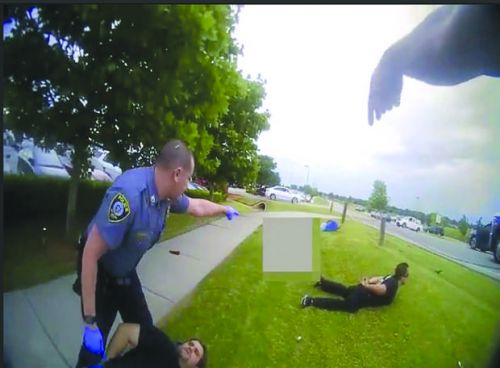 Oklahoma City police release bodycam videos after Louie's shooting