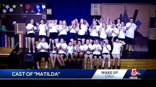 Wake Up Call from the cast of 'Matilda'