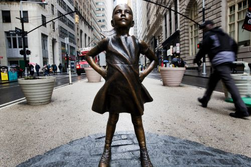 'Fearless Girl' is heading to Europe