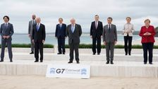 'Action Figures' Photo Of Joe Biden With G7 Leaders Becomes A Meme