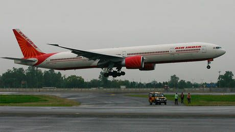 RAF escorted Air India plane to London Stansted Airport after 'bomb threat' reported