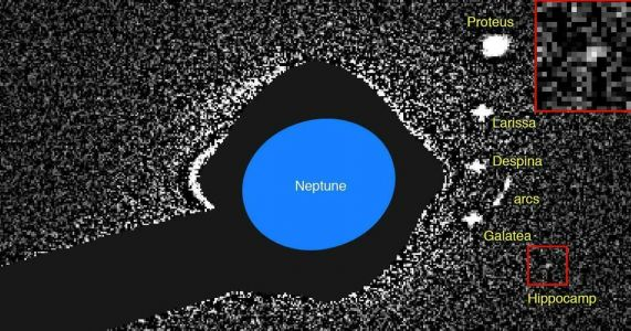 Neptune's newest, tiniest moon likely fragment of bigger one
