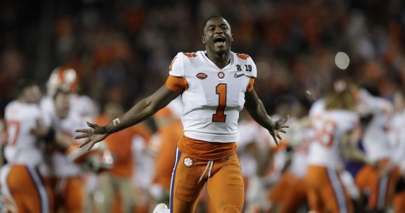 Clemson is No. 1 for 3rd time in AP poll, 'Bama 2, Ohio St 3