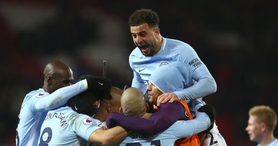 Man City wins derby, EPL title race turning into procession