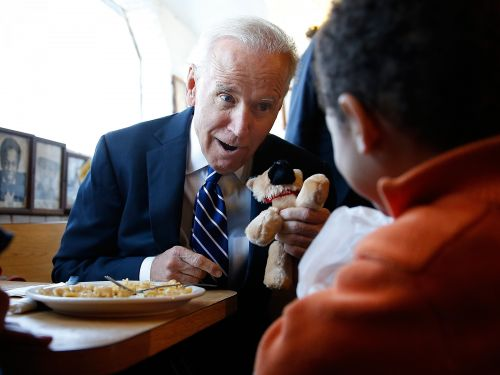 Joe Biden adopted a German Shepherd shelter puppy named Major - and the official picture is priceless