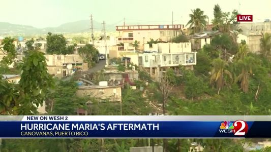 Months after Hurricane Maria strikes, woman to receive new roof