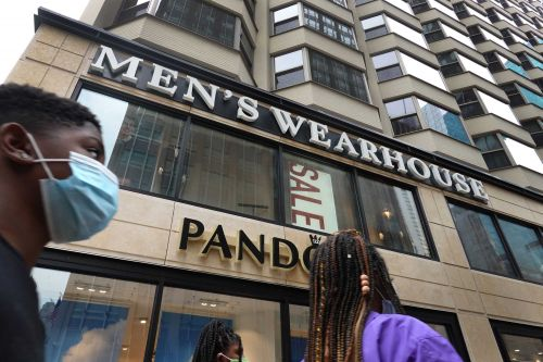 Men's Wearhouse owner files for bankruptcy as pandemic torpedoes suit sales