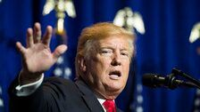 Trump Threatens 'Official End Of Iran' If It Wants To Fight
