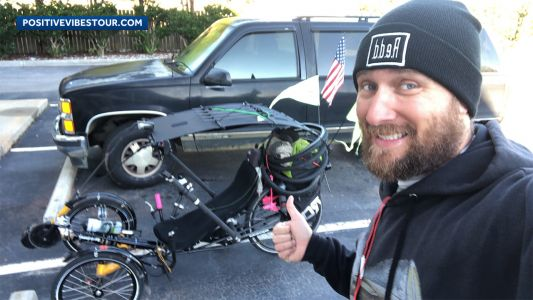 NH man riding across US to raise money for children's hospital killed in crash