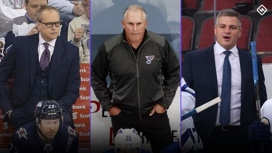 Puffy coats, coffee, swearing: How NHL head coaches stay warm in an ice-cold rink