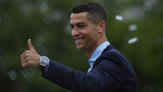 Cristiano Ronaldo arrives in Italy to complete Juventus move