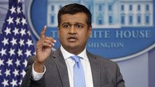 White House spokesman Raj Shah will join lobbying firm