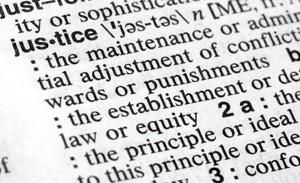 'Justice' prevails as 2018 word of the year for Merriam-Webster