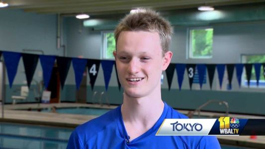 Cumberland teen will compete in Olympic trials this weekend for swimming