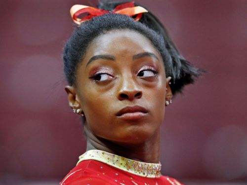 Simone Biles criticized the new head of USA Gymnastics for an anti-Nike tweet