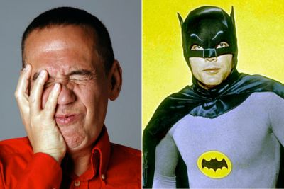 That time Gilbert Gottfried got Adam West to talk about an orgy