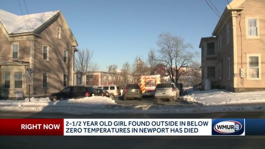 Toddler found dead outside home in bitterly cold weather