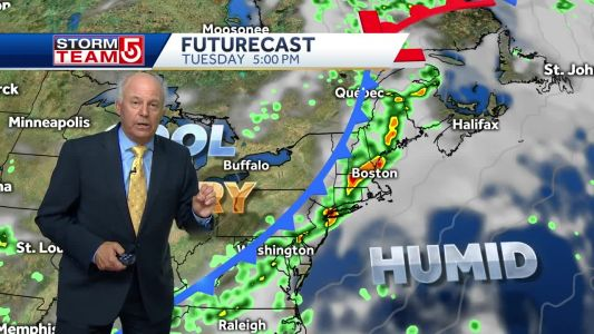 Video: Risk of severe storms Tuesday