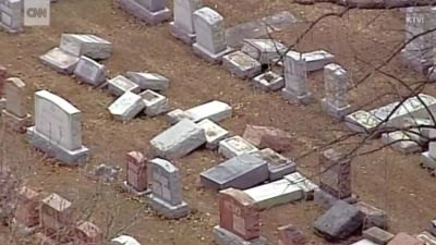 Muslims raise over $65,000 to repair desecrated Jewish cemetery