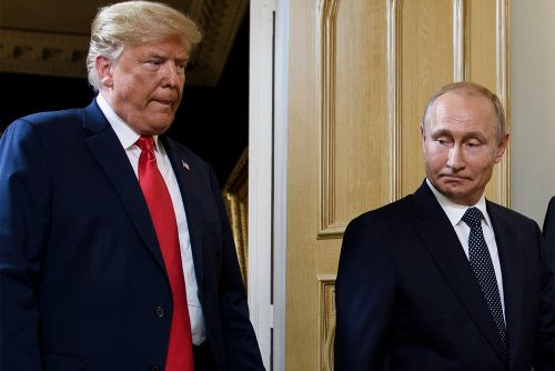 Finland's biggest newspaper takes jab at Trump, Putin before summit