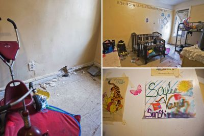 Inside the room where two tragic tots were scalded to death