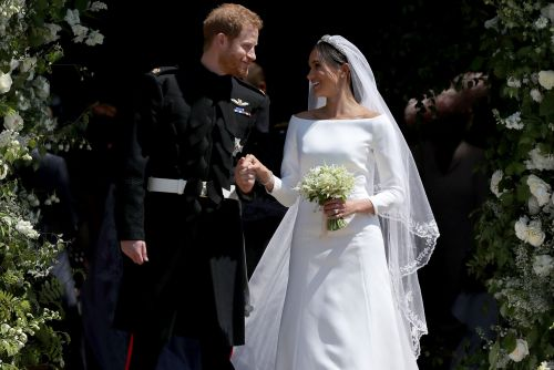Meghan Markle, Prince Harry share never-before-seen photos from wedding