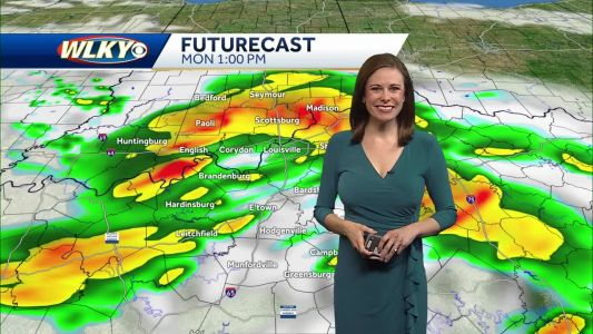 Scattered Showers/Storms Possible This Afternoon