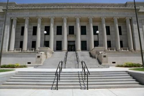Protest to Medicaid expansion goes before makeshift Supreme Court