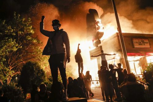 PHOTOS: Protests erupt across US after George Floyd's death