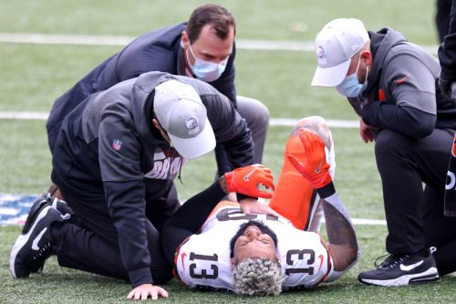 Odell Beckham out for season with torn ACL in Browns crusher