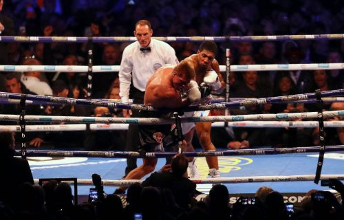 Anthony Joshua overcomes a broken nose to knock out Alexander Povetkin - and it now sets up a winner-takes-all fight with Deontay Wilder or Tyson Fury