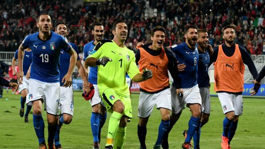 World Cup 2018 play-offs: Italy draw Sweden and Republic of Ireland face Denmark in UEFA ties