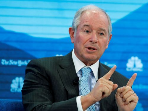 Blackstone CEO Stephen Schwarzman says he doesn't understand why companies pit execs against each other in succession battles, and tells us why he kept his next-in-line a secret for more than a year