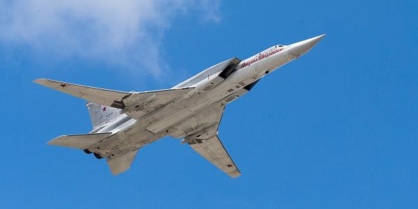 A Russian supersonic heavy bomber crashed in the Arctic, killing most of the crew