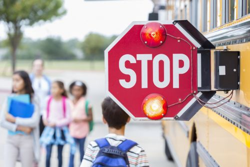 Petition calls for strict penalties for disobeying school bus lights, sign
