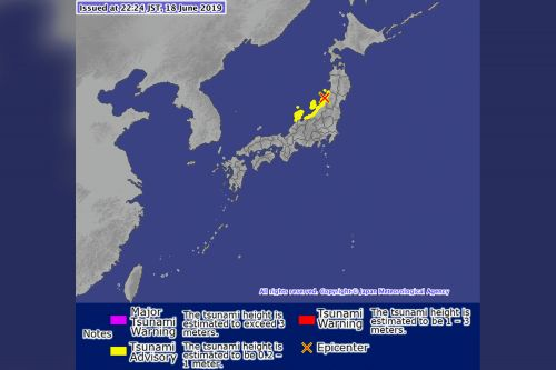 Huge earthquake strikes Japan, triggers tsunami warning