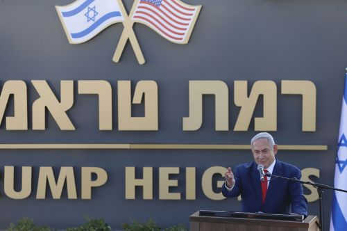 Israel moves to name Golan settlement after Trump