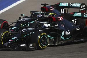 Bottas wins in Russia as Hamilton misses F1 win record