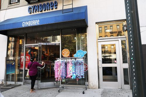 Clothing retailer Gymboree files for bankruptcy for second time