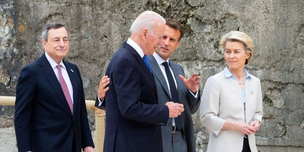Joe Biden is coming face-to-face with a Europe that grew much more powerful during Trump's presidency