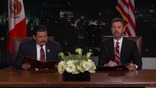 Jimmy Kimmel mocks Trump's 'special bond' with Kim Jong Un after North Korea summit