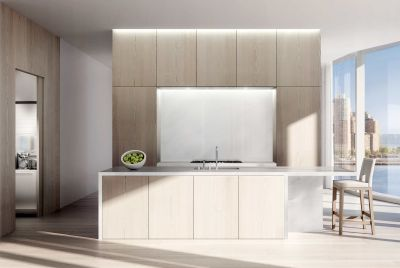 In luxe new condos, kitchens go glam